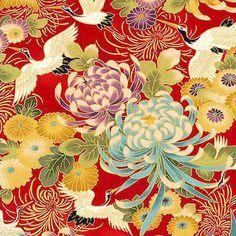 Kimono Birds and Flowers Kit on artneedlepoint.com