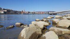 In riva al Danubio di Budapest.