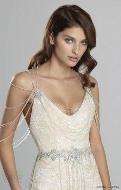 Alvina Valenta Fall 2015 Wedding Dresses | Wedding Inspirasi