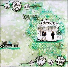 Scrap Plaisir shannon91: Invitée Just Create & Scrap : Sketch #129