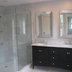 Best Carrera Marble Bathrooms Images On Pinterest Bathroom Ideas - Carera marble bathroom