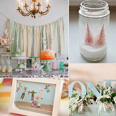 1st birthday party themes for girls | Creative First Birthday Party Ideas