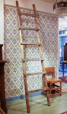 Vanha tikkaat Ladder Decor, Home Decor, Decoration Home, Room Decor, Home Interior Design, Home Decoration, Interior Design