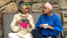 And now for something completely different - Sweata Weatha the Loopy Mango style! Mango Style, Loopy Mango, Mango Fashion, Snl, Sweater Weather, Winter Hats, Crochet Hats, Knitting Hats, Saturday Night Live