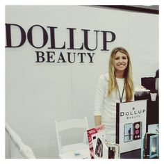 Dollup Beauty takes Dallas! Come visit us @themakeupshow! #jointhemakeuprevolution #entrepreneur #todaysnextbigthing