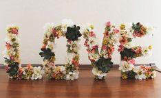 letras-boda-original-flores.jpg (600×366)