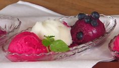 Red, White And Blue Sorbet