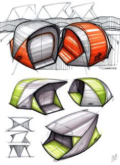 "I'm digging Mike Serafin's tons-o'-sketches for this hurricane lantern, done for a client in Moradabad, India. ""[It was] a quick 2 phase project with some material and cost restrictions,"" reads Serafin's Coroflot page. ""The result is a minimal, simple to use, large size lantern/hurricane which is easy to fabricate.""I also..."