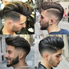 "Mens Hair on Instagram: ""RG @ambarberia #sidepart #menshairstyle #blurryfade…"