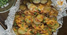 This is best grilled potato recipe to try on your barbecue Vegetarian Barbecue, Barbecue Recipes, Grilling Recipes, Cooking Recipes, Best Potato Recipes, Side Recipes, Great Recipes, Bbq Marinade, Barbecue Sides