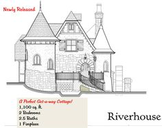 33 best fairytale home floor plans images storybook cottage rh pinterest com