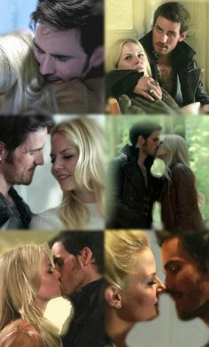 Look at the way he hugs her or looks at her or kisses her. He truly loves her so much, even Emma doesn't know.