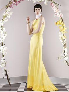 Vionnet Resort look 16, collection 2014