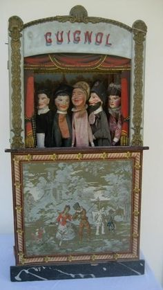 french puppet theatre - Google Search