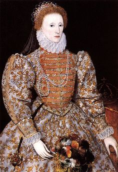 "Queen Elizabeth the 1st. (1533-1603):  ""A clear and innocent conscience fears nothing."""