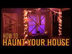 Chandelier Pendant Lights, Pendant Light Fixtures, Halloween Crafts, Halloween Decorations, Outdoor Halloween, Black Tablecloth, Dollar Tree Pumpkins, Porch Decorating, Front Porch