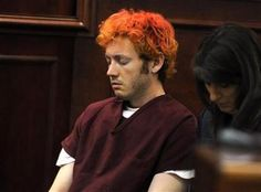 "The man accused of killing 12 people in a shooting rampage at a midnight showing of the new ""Batman"" film in a Denver suburb made his first court appearance on Monday, looking bleary-eyed and emotionless, his unruly hair dyed shades of orange and red. James Eagan Holmes, Hair Dye Shades, Midnight Show, Bleary Eyed, The New Batman, World View, First Photo, Dyed Hair, The Man"