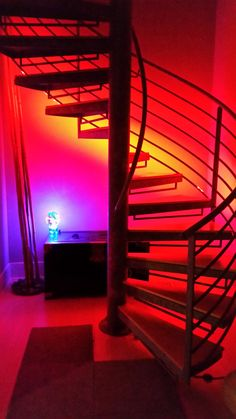 aesthetic led lights neon bottom put rail along rooms background party beds dreams uploaded user