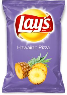 Hawaiian Pizza Lay's Potato Chips VOTE FOR THIS FLAVOR