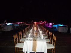 A Beautiful rooftop setting for the The Grill Seargent Dinner at Jamaica Inn - Jamaica Inn Blog