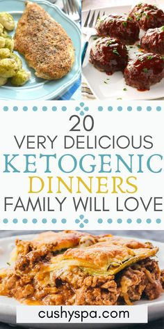 20 Delicious Keto Dinners You Should Try Tonight These delicious ketogenic dinners are great for family gatherings and staying on the keto diet even when it's hard. Try these keto recipes and start losing weight. Keto Diet List, Starting Keto Diet, Keto Foods, Nutritional Value Of Food, Keto Diet Side Effects, Cena Keto, Keto Diet Breakfast, Breakfast Recipes, Low Carb Vegetables