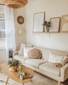 Home Interior Design .Home Interior Design Boho Living Room, Home And Living, Living Room Natural Decor, Beige Living Rooms, Condo Living, Small Living Rooms, Living Spaces, Cheap Home Decor, Diy Home Decor