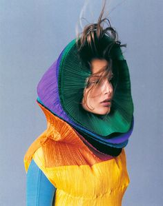 issey miyake: worn in Ireland first by my aunt Bernie Stephenson in 1970; who attended ExPO 70 in Japan, and fell in love wd Miyake