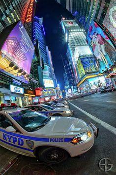Times Square, Manhattan, New York A New York Minute, New York Police, Ny Ny, I Love Ny, Police Cars, Police Vehicles, City That Never Sleeps, Dream City, New York City