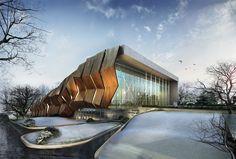 A random convention centre render/design - Ertugy: