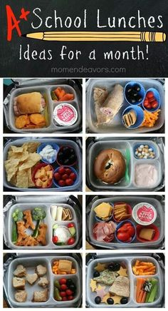 Lunch box ideas great for children!