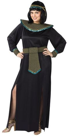 Costumes! Cleopatra Midnight At The Oasis Costume Set Adult Plus 16W - 20W #FM #Gown #Halloween
