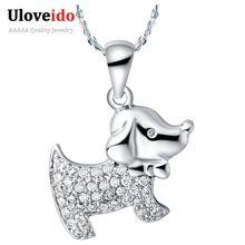 Collar de Mujer Regalo de la Cadena de diamantes de Imitación Lindo Collares…