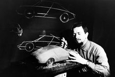 ferdinand alexander porsche's first contribution to the company was the creation of a plasticine model of what would later become the 911