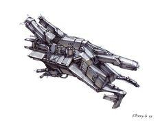 concept ships: Concept ships by Khang Le