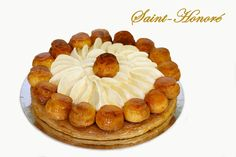 reine chaibane shared a video Profiteroles, Eclairs, St Honore Cake, Sweet Recipes, Cake Recipes, British Bake Off Recipes, Paris Brest, Choux Pastry, French Desserts