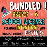 HUGE BUNDLE!  Learning INTENTIONS Posters - ALL SUBJECTS,