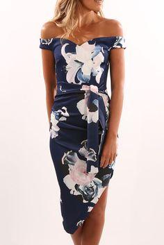 Amatrice Dress Navy