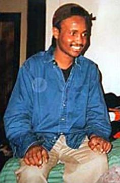 Amadou Diallo (1975 - 1999) West African immigrant to New York City who was shot dead by police when they mistook his wallet for a gun and fired at him 41 times (he was unarmed - and innocent)