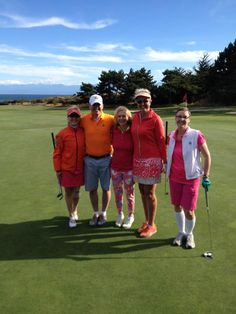 "July, 2015. Women's Fun Day with a ""pro"" playing in each group. Pictured here is our Links Superintendent, Paul, joining in on the fun. #twitterphotos #yyjphoto #golfcourse #westcoast #victoriagolfclub"