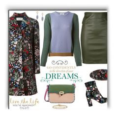 """""""Live Your Dreams"""" by fassionista ❤ liked on Polyvore featuring Valentino, Getting Back To Square One, Tacori and Hoorsenbuhs"""