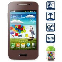 This phone will only work with GSM+WCDMA network Network type: GSM Frequency: GSM 850/900/1800/1900MHz Unlocked for Worldwide use, please check if your local area network is compatible with this phone  Highlights: Type: Touch screen phone  Color: Coffee OS: Android 4.1 CPU: DMDK4x12 1GHz ...Click on Picture to go to Store