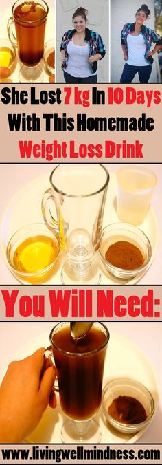 The recipe for this miraculous weight loss aid is very simple.