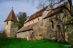 Fortified church in Rosia,Sibiu county, Transilvania, Romania