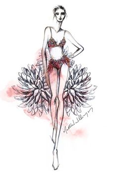 Matthew Williamson collaborates with Triumph lingerie for London Fashion Week