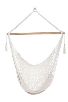Hanging Hammock Chair Organic Cotton - Solid Color