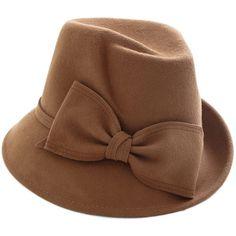 M/ützen Filzhut Damen Elegante Herbst Winter Glockenhut Modern Mode Style Vintage Trilby Cozy Hut Caps