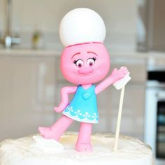 Figura Poppy: pelo