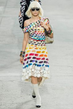 Chanel Spring 2014 Ready-to-Wear Collection Slideshow on Style.com Cara Delevigne