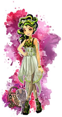 Ever After High .:OC:. Shinna Fiary by maki96.deviantart.com on @deviantART