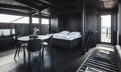 V Dánsku přestavěli starý jeřáb na ubytování a lázně